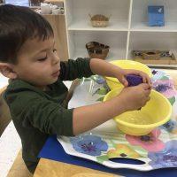 Montessori Classroom Children