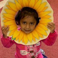 Children Harvested Sunflowers